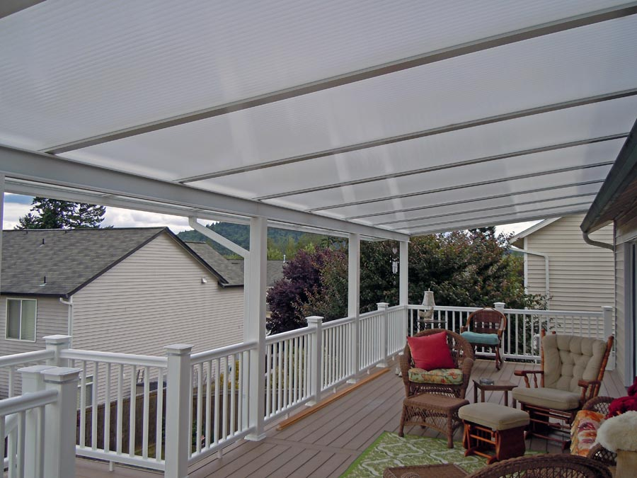 Custom Acrylite Patio Covers