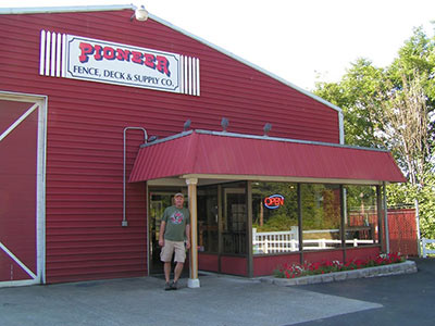 Pioneer Fence Retail Location